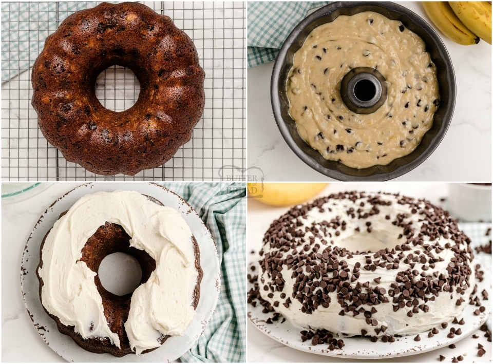 How to make Chocolate Chip Banana Cake recipe