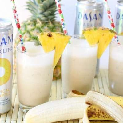 TROPICAL BANANA SPARKLERS