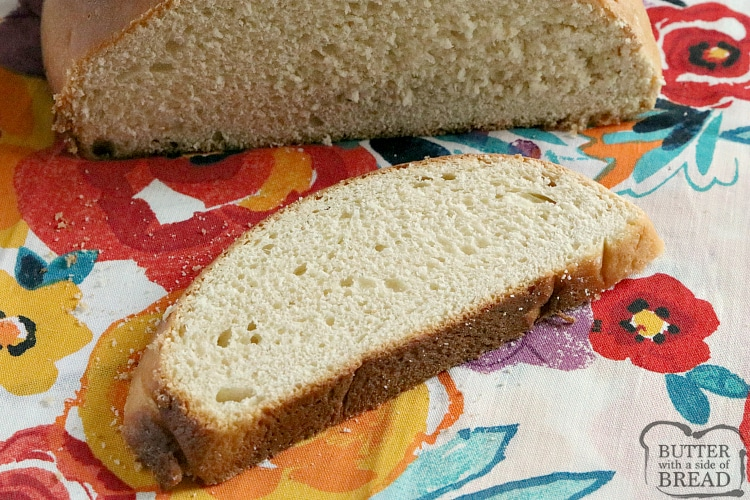 Slice of hawaiian bread