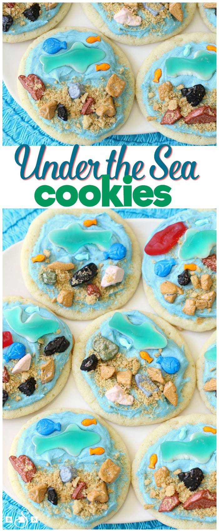 Under the Sea Fish Cookies ~ Shark Cookies - Butter With A Side of Bread