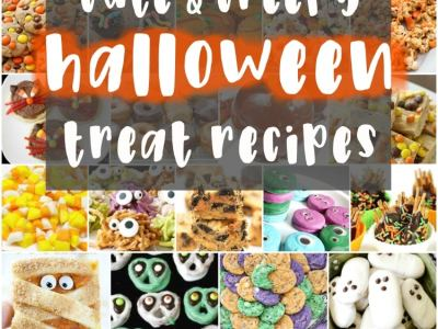 These cute & creepy Halloween treats are perfect for parties! Cute, creepy, spooky and DELICIOUS! Here are all the Halloween treats you need to make this Halloween one to remember!
