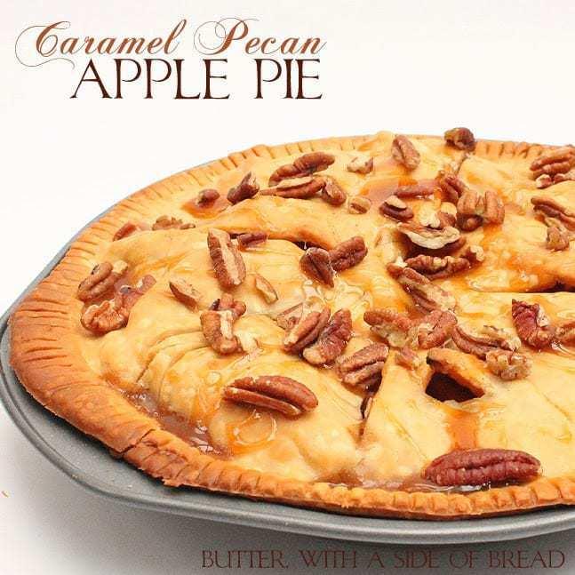 Caramel Pecan Apple Pie