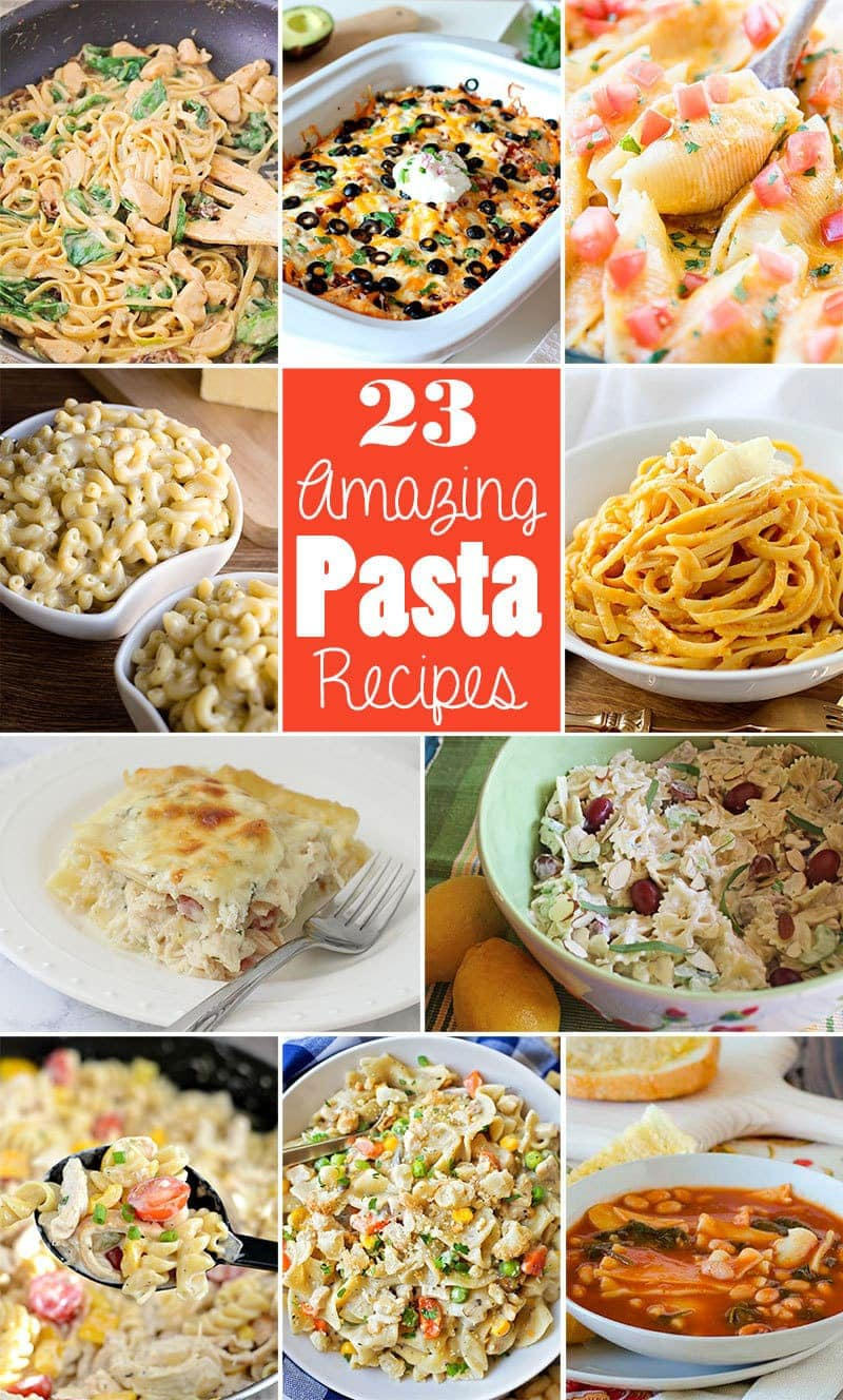 Amazing Pasta Recipes - Butter With A Side of Bread
