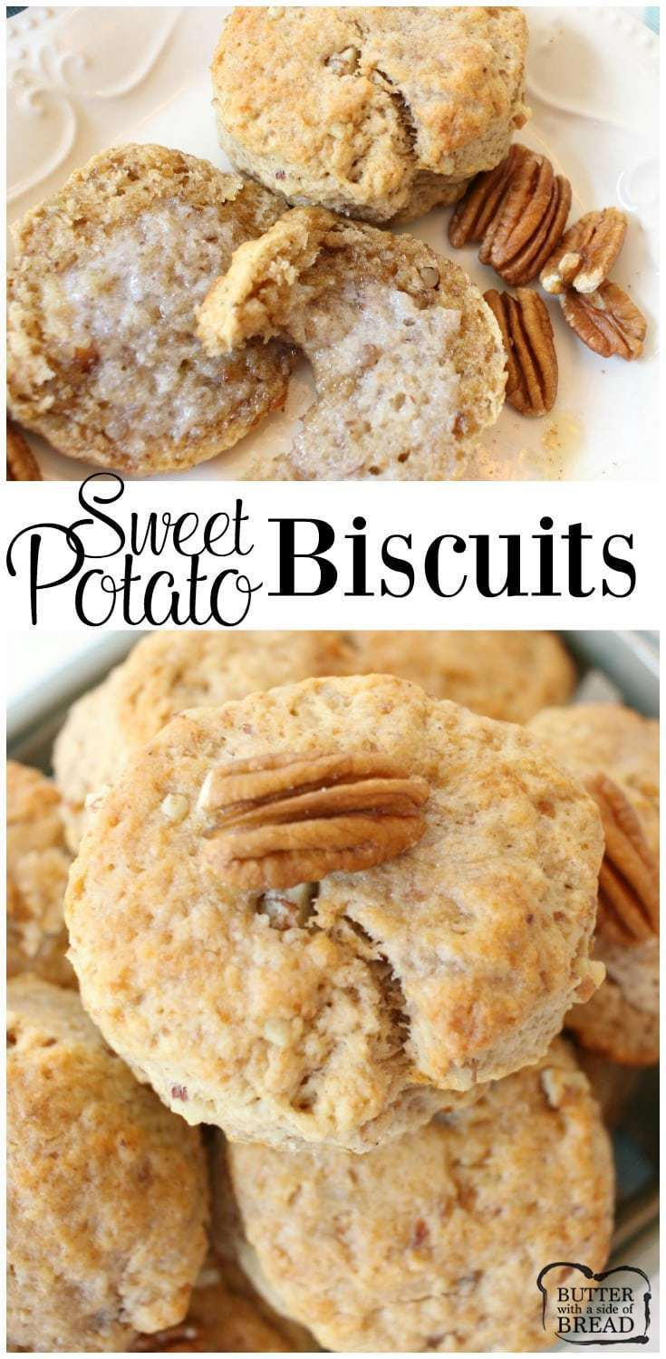 Sweet Potato Biscuits - Butter With A Side of Bread