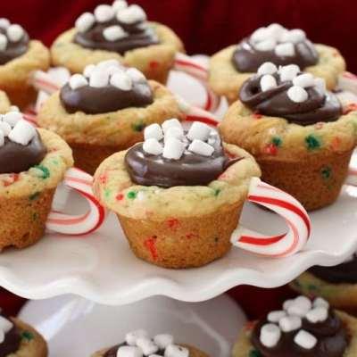 HOT CHOCOLATE CHRISTMAS COOKIES