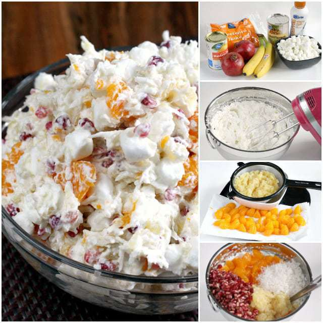 Creamy Pomegranate Salad - Butter With a Side of Bread