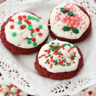 RED VELVET CHRISTMAS COOKIES