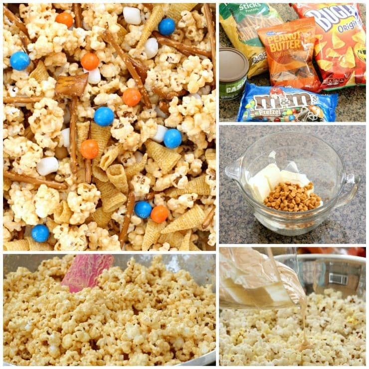 Game Day Popcorn Mix - Butter With A Side of Bread
