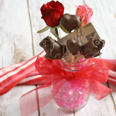 VALENTINES DAY CHOCOLATE BOUQUET