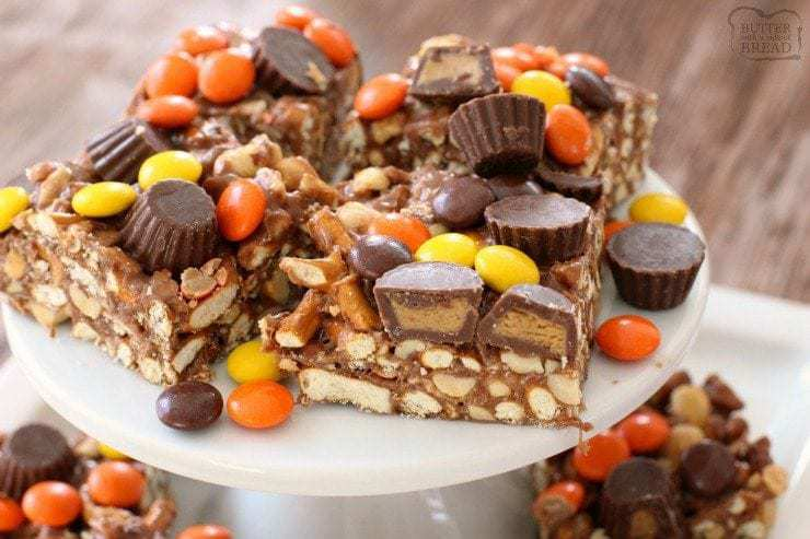 Reese's Pretzel Bars - Butter With A Side of Bread