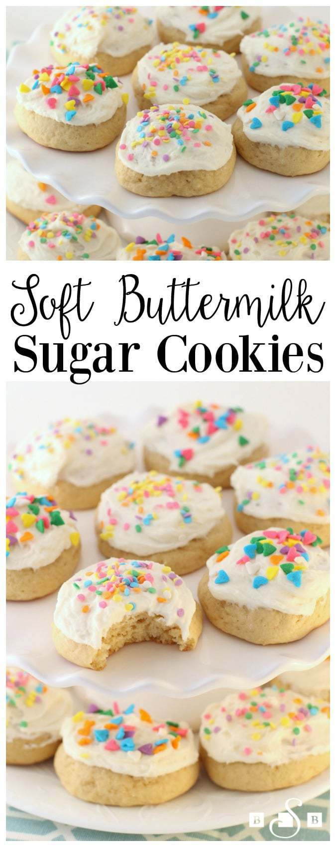 Soft Buttermilk Sugar Cookies are every sugar cookie lovers' dream! They are so soft, delicious, and anyone can make them!