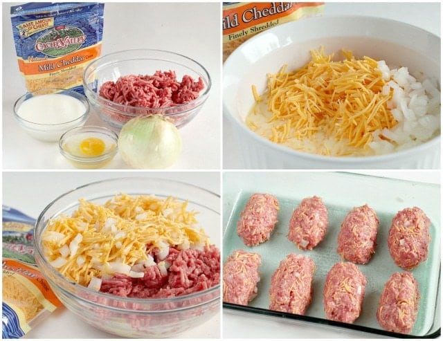 Mini Cheddar Meatloaves are so much better than your traditional meatloaf recipe because of the addition of cheese and the amazing sauce on the top!
