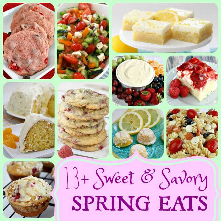 Spring Recipes - Butter With A Side of Bread