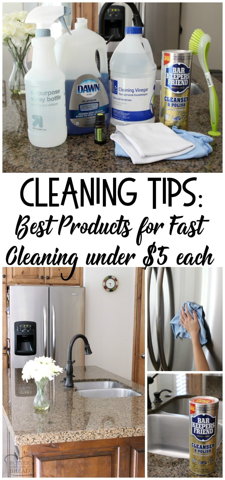 CLEANING TIPS: BEST PRODUCTS For FAST CLEANING