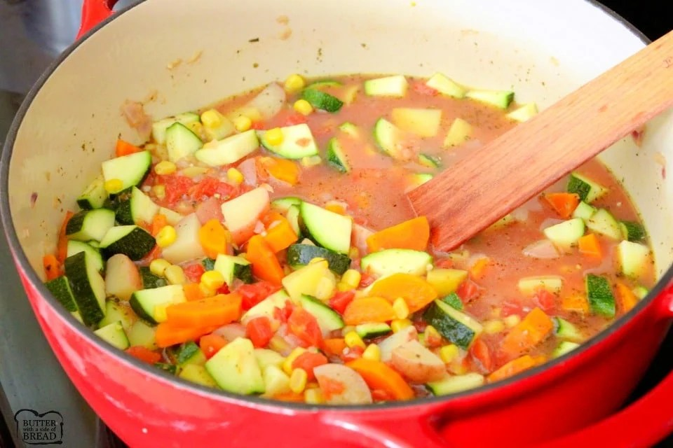 how to make Summer Garden Vegetable Stew recipe