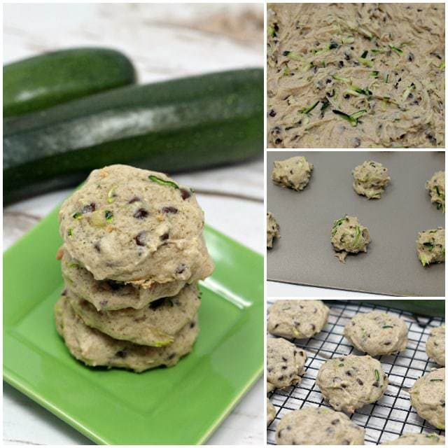 Zucchini Chocolate Chip Cookies are so soft and yummy, plus this is a delicious way to sneak in some veggies and use up all the zucchini from your garden!