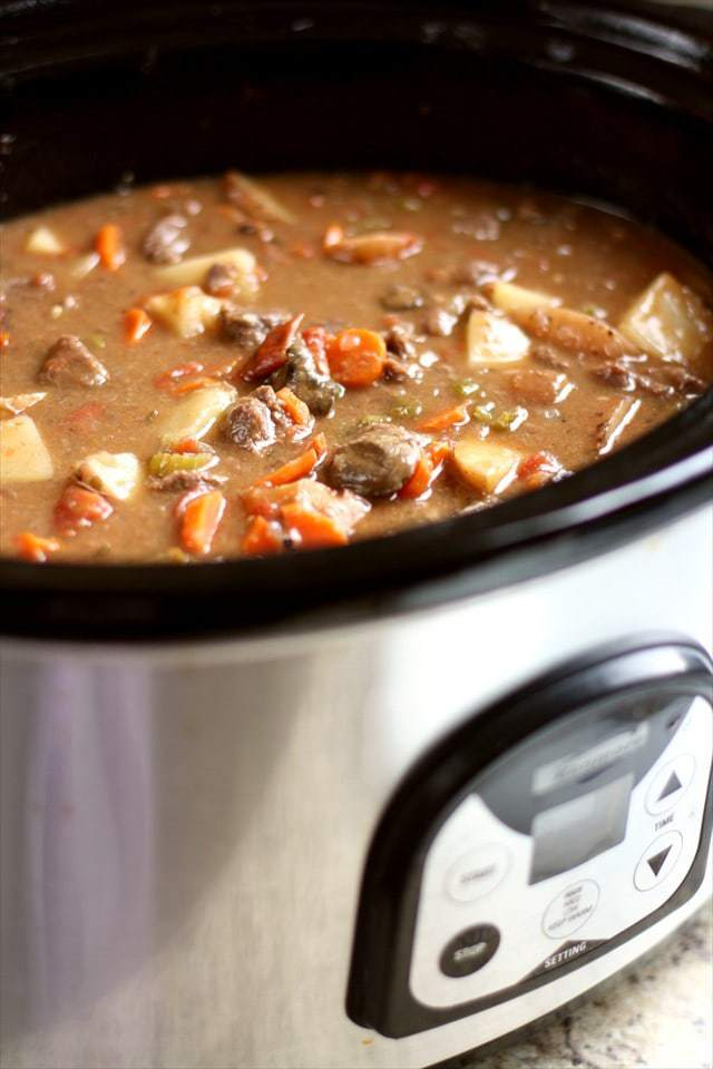 How to make the best Crock pot slow cooker beef stew recipe