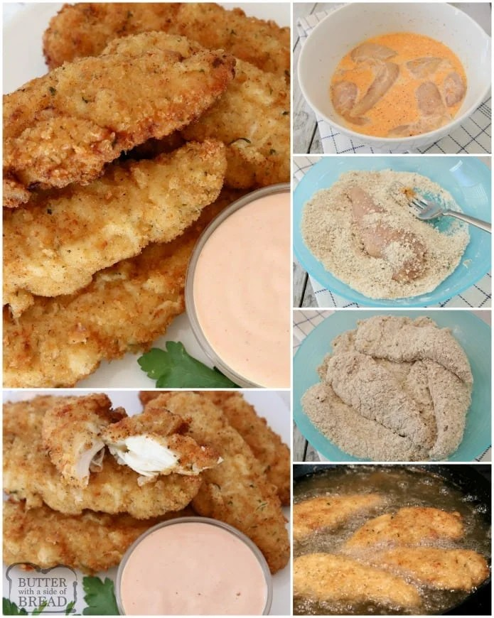 Were visited recipes with chicken breast tenders