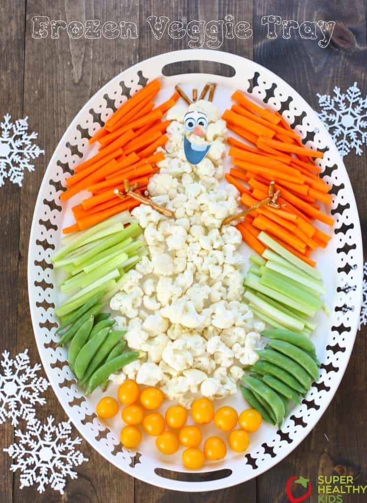 FESTIVE CHRISTMAS VEGGIE TRAYS & PLATTERS - Butter with a
