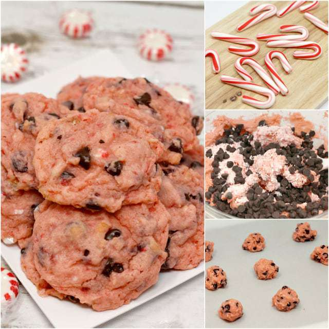 Peppermint Chocolate Chip Pudding Cookies Butter With A Side Of Bread
