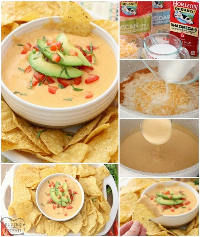 Nacho cheese sauce without flour