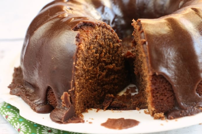 Chocolate Coca-Cola Cake is made with soda, buttermilk and marshmallow creme! This chocolate cake is moist, delicious and turns out perfectly every time!