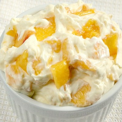 PEACHES AND CREAM SALAD