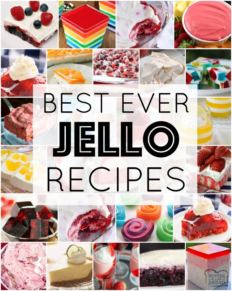 Best Jello Recipes Jello Salad Recipes Butter With A Side Of Bread