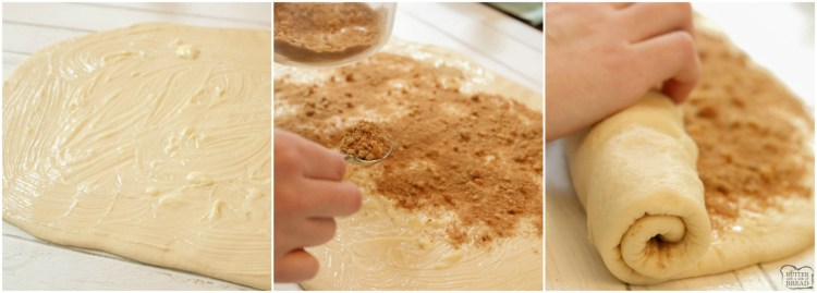 How to make homemade cinnamon rolls. How to make the filling for cinnamon rolls.