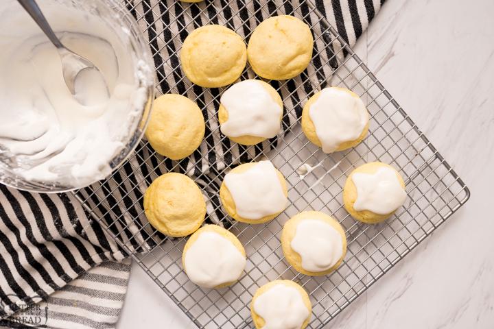 iced lemon cake mix cookies