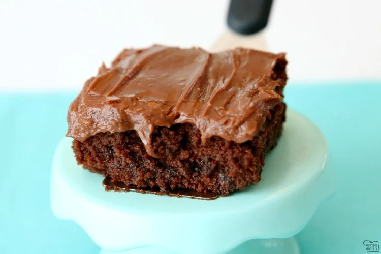 Best Classic Brownie Recipe made with basic ingredients and baked to fudgy, chocolate perfection! The easy chocolate frosting is amazing. These really are the BEST BROWNIES ever!