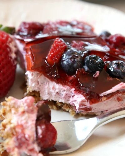 Berry Jello Salad recipe