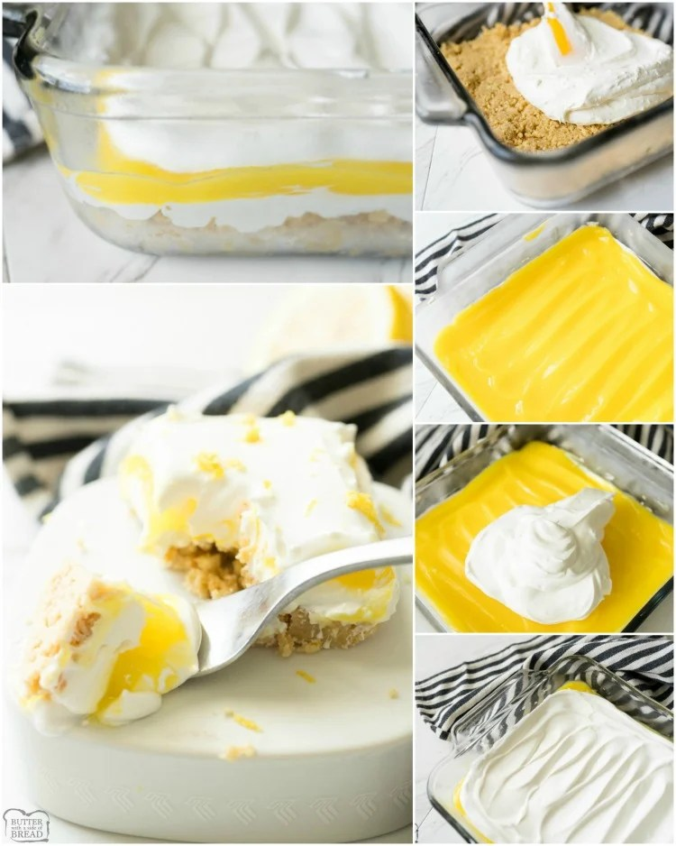 how to make lemon lush recipe