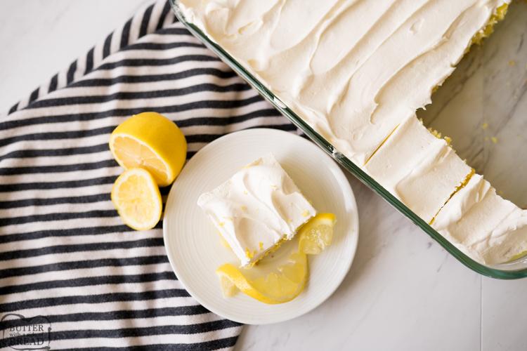 lemon poke cake recipe