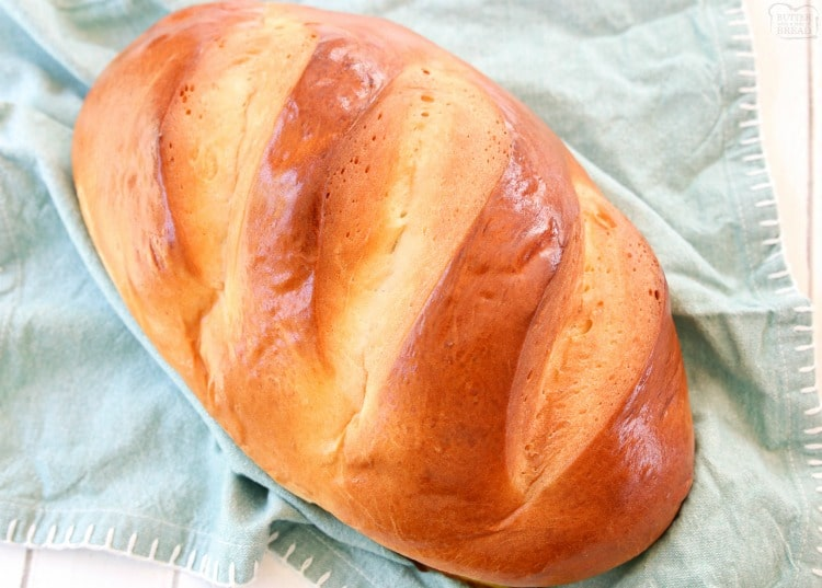 homemade baked french bread
