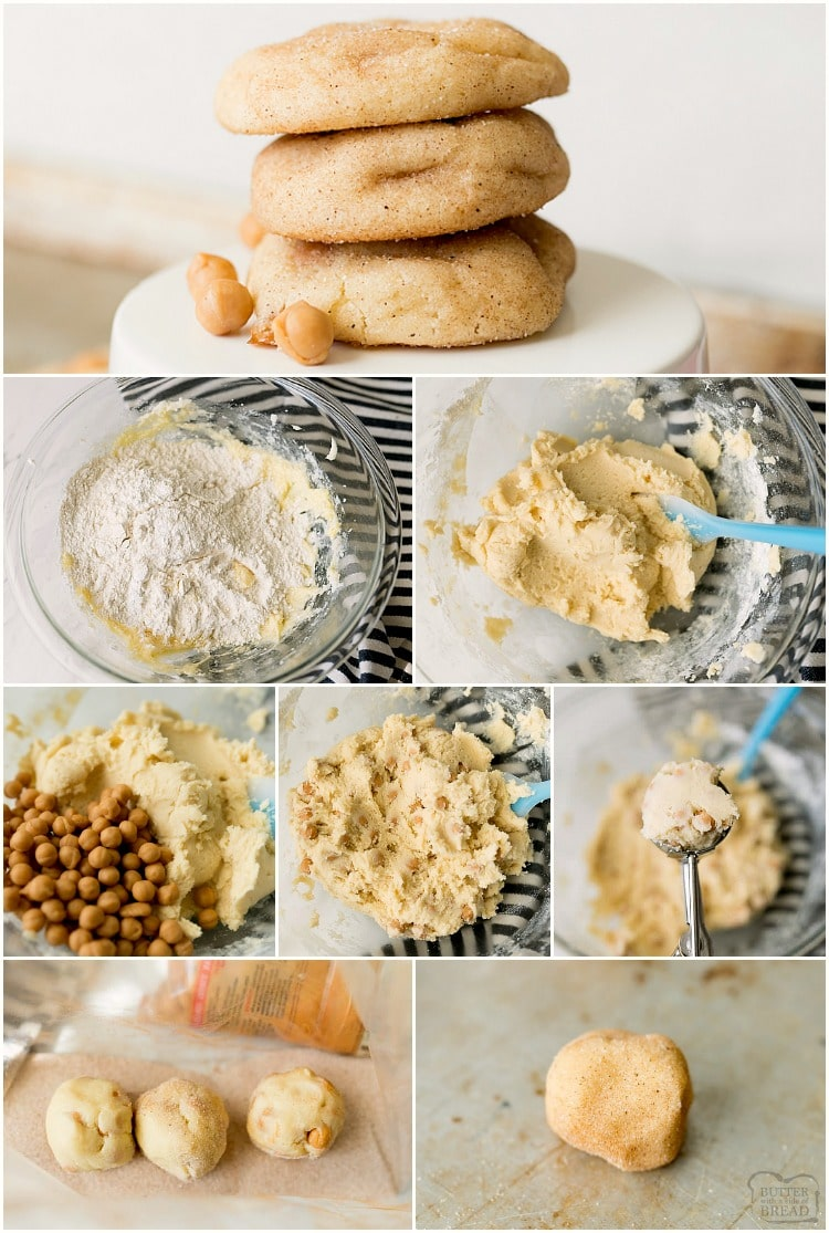 how to make easy snickerdoodle cookies with caramel recipe