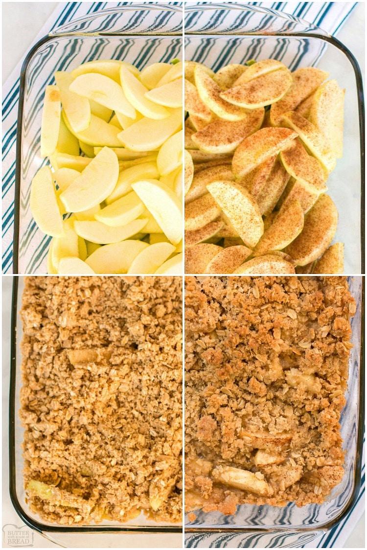 How to make easy apple crisp recipe