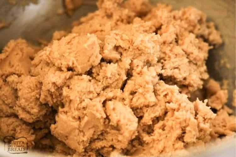 eggnog cookie dough