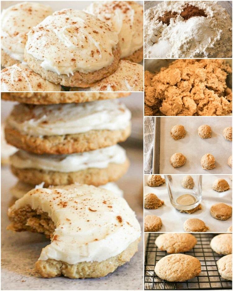 How to make eggnog cookies