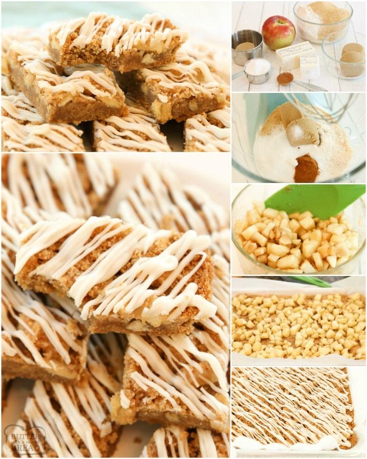 how to make apple cinnamon crumb bars