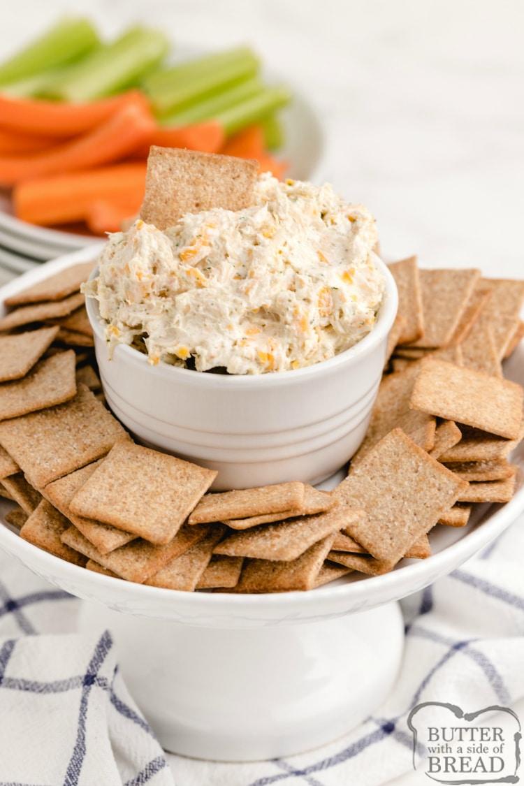 Easy chicken cream cheese dip recipe