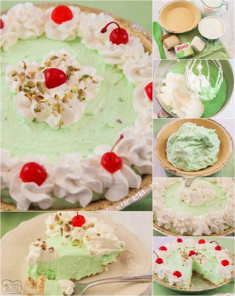 Best Ever Easy Pistachio Cream Pie recipe