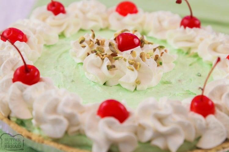 Best Ever Easy Pistachio Cream Pie recipe