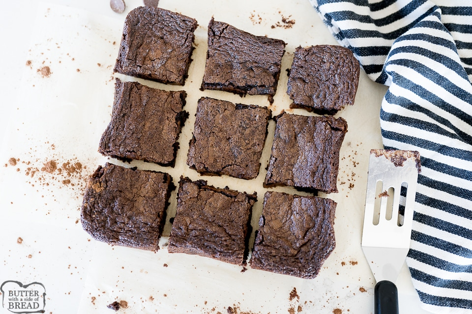 brownies baked