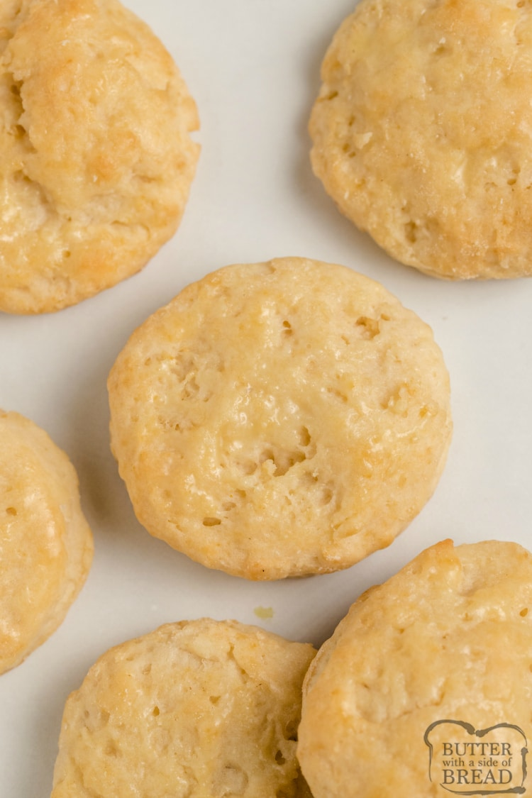 Homemade biscuit recipe made with 7-Up