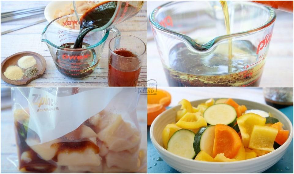 How to Make Glazed Honey Chicken Kabobs recipe