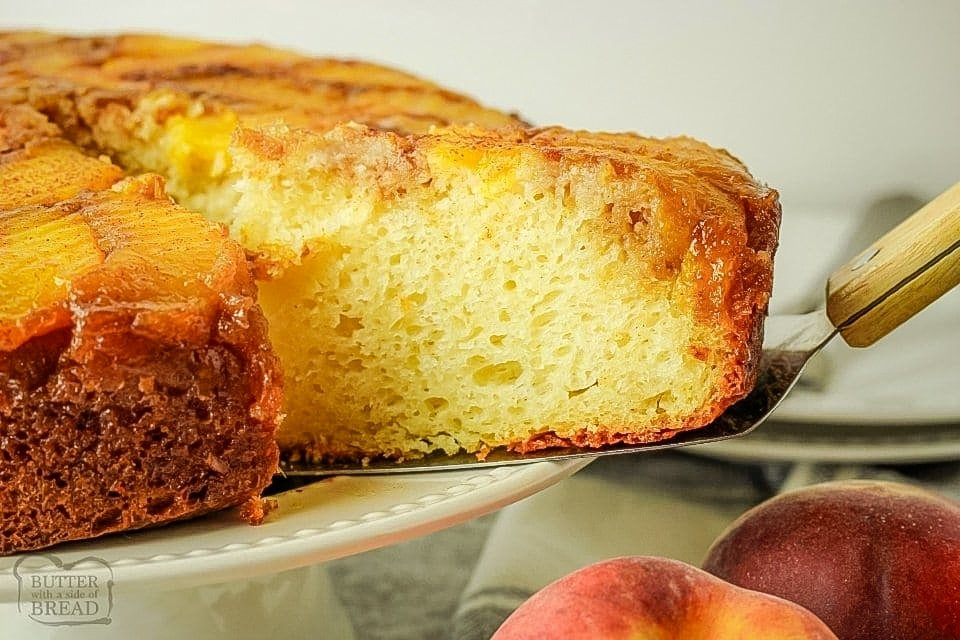 Peach Upside Down Cake recipe