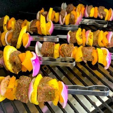 Marinated Grilled Steak Kabobs