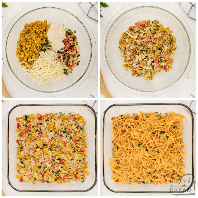 How to make hot corn dip recipe