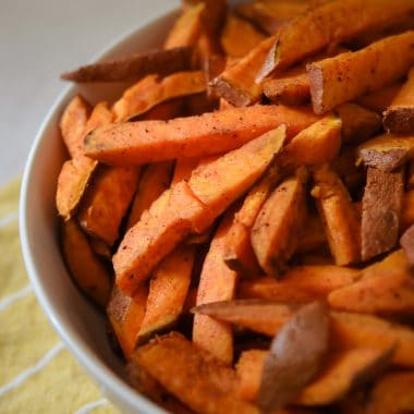 Easy Baked Sweet Potato Fries recipe